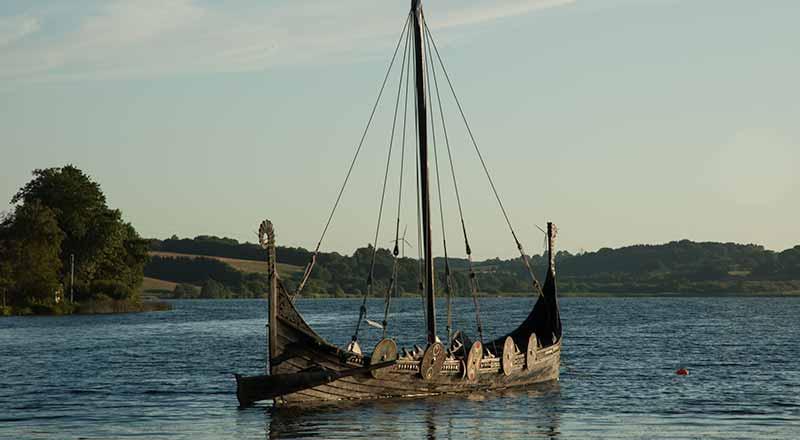 De Denen stammen af van de Vikingen