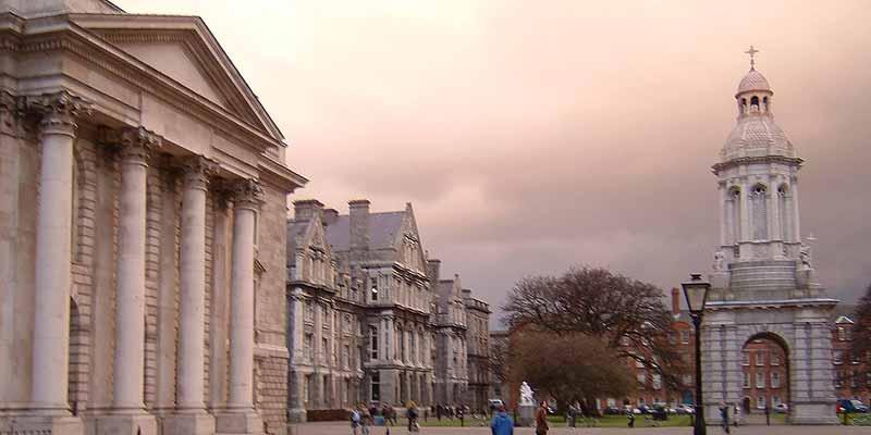 Trinity College in hartje Dublin