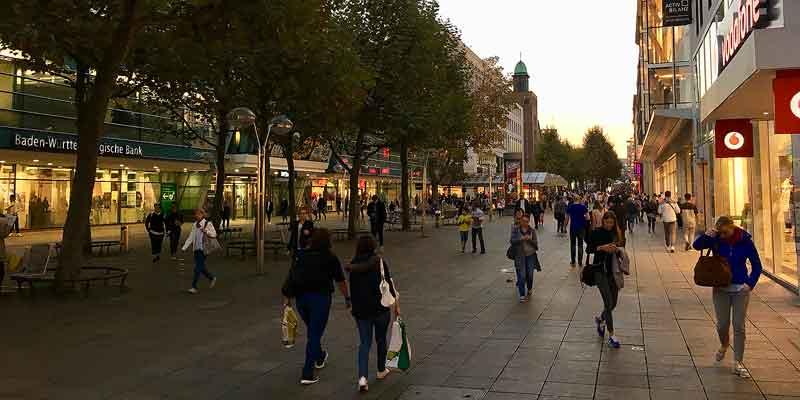 Ook om te winkelen kun je prima in Stuttgart terecht