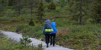 Pallas-Yllästunturi National Park. Muonio en Ylläs