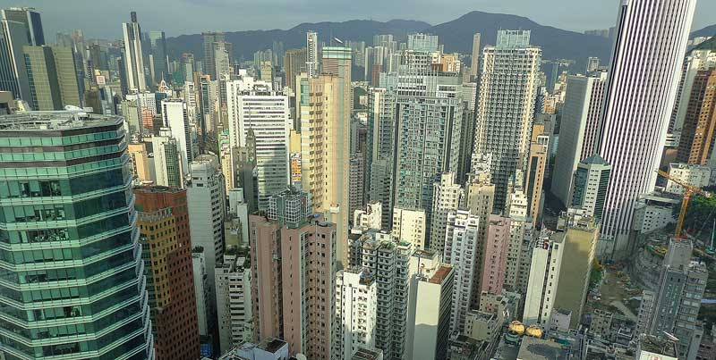 Skyscrapers in Hongkong