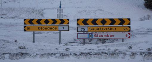 Rijden op IJsland in de winter