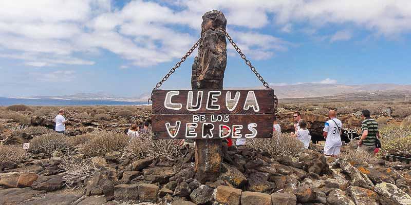 Cueva de los Verdes op Lanzarote