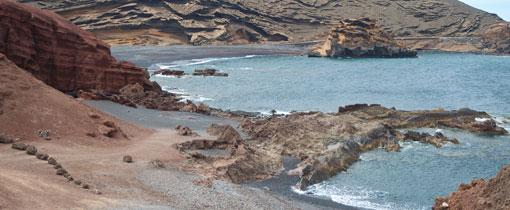 El Golfo groen kratermeer Lanzarote
