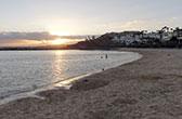 Playa Blanca. Zonnig vakantiestadje in het zuiden