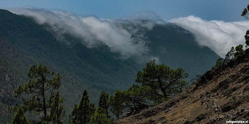 Caldera de Taburiente Nationaal Park. De grootste vulkaankrater van La Palma