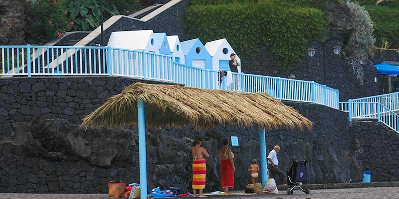San Andres op La Palma op de Canarische Eilanden