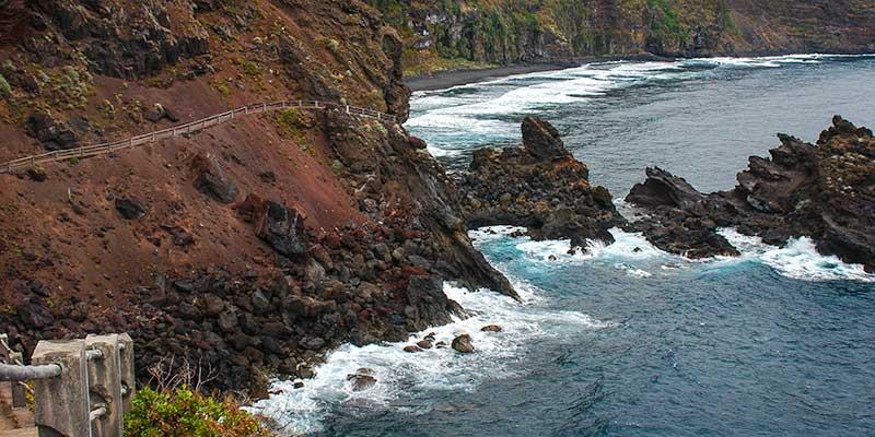 Bezienswaardigheden noord- en oostkust La Palma. Zonvakantie op de Canarische Eilanden