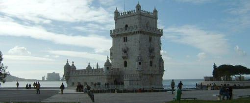 Belém wijk Lissabon. Aan de monding van de Taag. De Portugese gouden eeuw