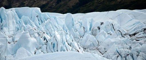 Een groot deel van Spitsbergen is bedekt met ijs
