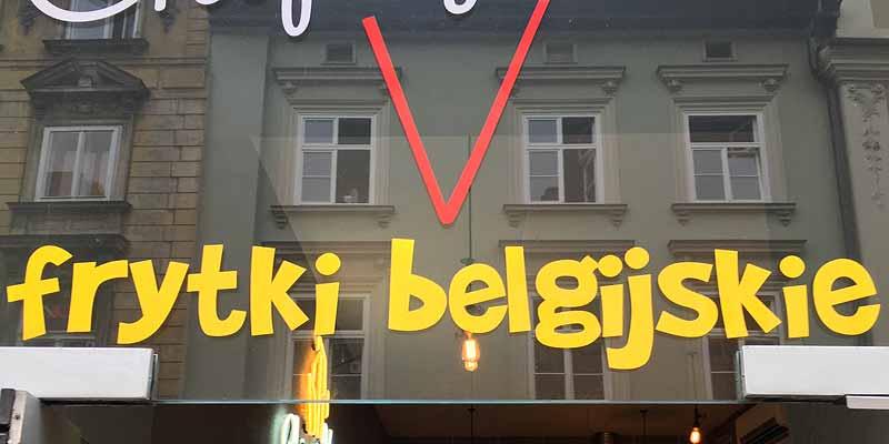 Belgische friet... in Polen