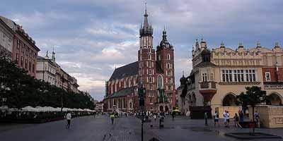 Krakau stedentrip Polen vakantie