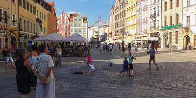 Wroclaw stedentrip Polen vakantie