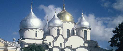 Novgorod, de stad van de vele kerken. Foto: de Sofiisky Kathedraal