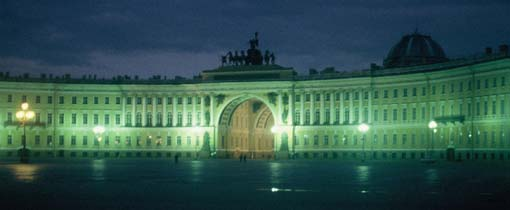 Het Paleisplein in St. Petersburg