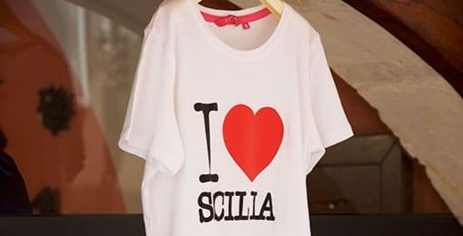 T-shirt van Sicilië