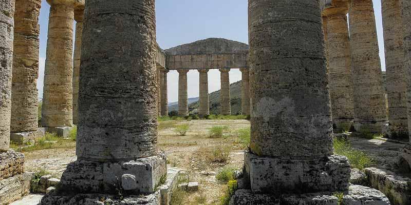 Valle dei Templi bij Agrigento in het zuiden van Sicilië