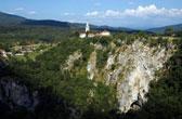 Karstgebergte: de grootste grotten van Europa. De grotten van Postojna in zuidwest Slovenië