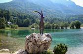Julische Alpen. De hoogste toppen van Slovenië