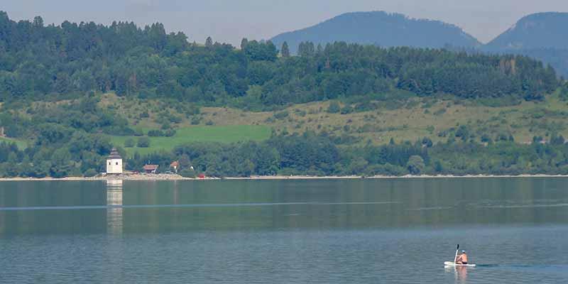 Liptov. Populaire vakantie regio in het midden van Slowakije