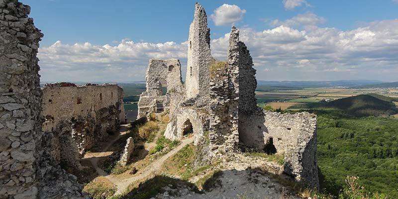 Een van de vele mooie kastelen in Slowakije
