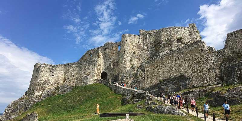 Spišský hrad. Het grootste kasteel van Midden-Europa