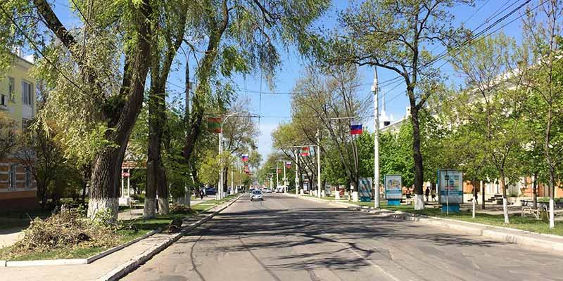 Tiraspol. Hoofdstad Transnistrië