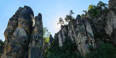 Het paradijs: Český ráj. Rotsen, bossen en burchten in het Boheems Paradijs